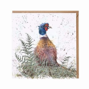 Wrendale Country Set 'Pheasant and Fern' Pheasant Card