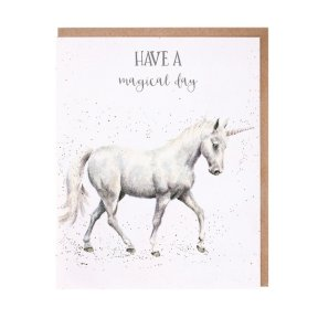 Wrendale Occasions Range 'Magical Day' Unicorn Birthday Card
