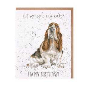 Wrendale Occasions Range 'Cake' Dog Birthday Card