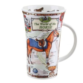 Dunoon World Of The Horse Glencoe Shape Mug