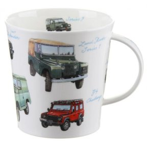 Dunoon Classic Collection Land Rovers Cairngorm Shape Mug