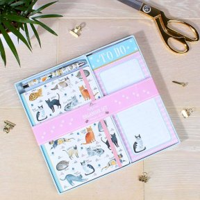 Curious Cats Organiser Set
