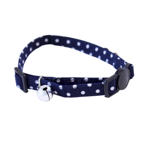 Tabby Chic Polka Dot Cat Collar