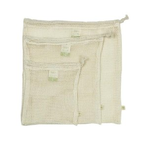 Organic Cotton Mesh Produce Bag - Variety Pack - Set of 3