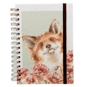 Wrendale 'Poppy Field' Spiral Notebook