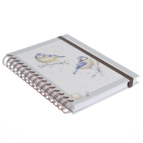 Wrendale 'Bluetits' Spiral Notebook