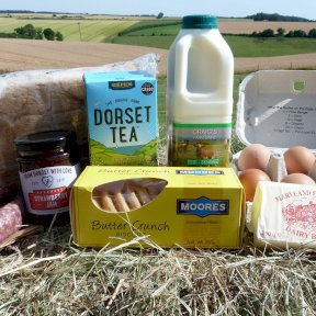 Best of The West Breakfast Hamper - For illustration purposes only
