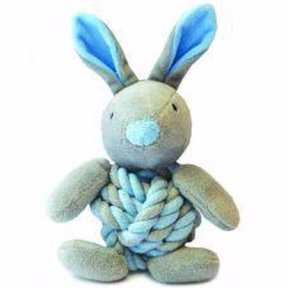 Happy Pet Little Rascal Bunny Puppy Toy