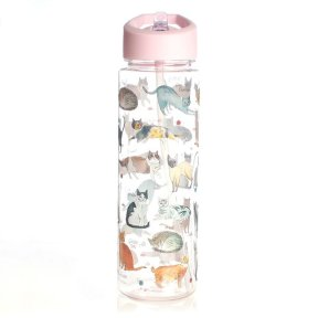 Milly Green Curious Cats Water Bottle