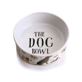 Milly Green Debonair Dogs Small Dog Bowl
