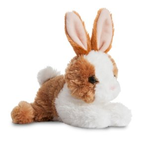 Mini Flopsie - Baby Bunny Brown/White