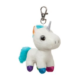 Jewel Unicorn Keyring
