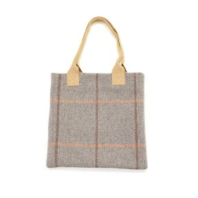 Tweedmill Tweed Shopper Shopping Bag - Blue