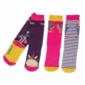 Toggi Childrens Aletha Unicorn Socks 3 Pack