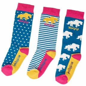 Toggi Tama Childrens Horse Design Socks