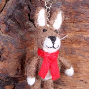 Pachamama Harry The Hare Keyring