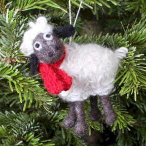 Pachamama Kevin The Christmas Lamb Decoration