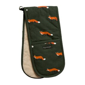 Sophie Allport Foxes Double Oven Glove