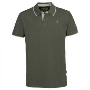 Percussion Mens Embroidered Polo Shirt