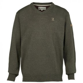 Percussion Mens V Neck Hunting Sweater