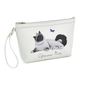 Make Up Bag - Cat - Glamour Puss