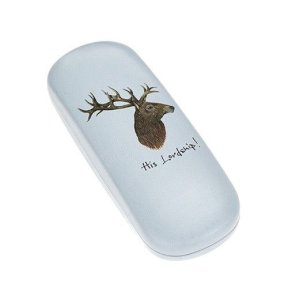 His Lordship Stag Glasses Case