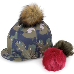 Aubrion Camo Switch It Pom Pom Hat Cover