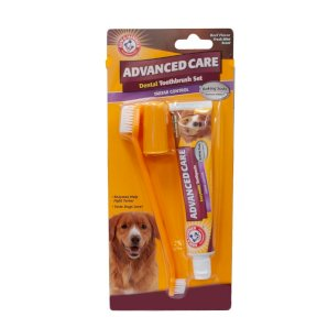 Arm & Hammer Advanced Care Dental Toothbrush Set For Dogs