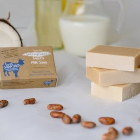 Cyrils Soap Shed - Unfragranced Goats Milk Soap
