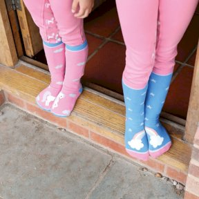 Tikaboo Childrens socks - Unicorn and Rainbow Designs
