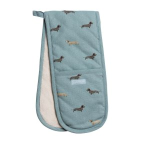 Sophie Allport Dachshund Double Oven Glove