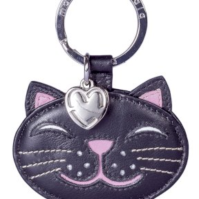 Mala Leather Paw Pals Rosie The Cat Keyring