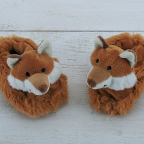 Jomanda Fox Baby Slippers