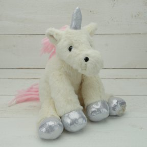 Jomanda Unicorn Sitting Soft Toy