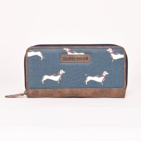 Brakeburn Sausage Dog Zip Purse