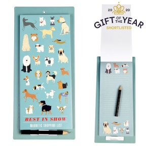 Best In Show Dog Magnetic Shopping List