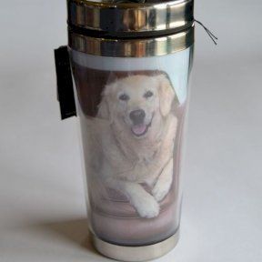 Country Matters Golden Moments Golden Retriever Thermal Mug