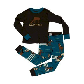 LazyOne Pasture Bedtime Kids PJ Set