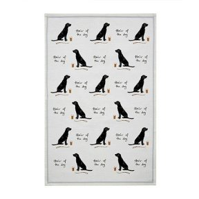 'Hair of the Dog' Tea Towel