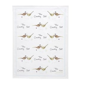 'The Country Set' Tea Towel