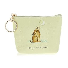 'Love You To The Moon' Hare Coin Purse