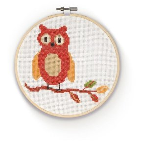 The Crafty Kit Company - Cross Stitch Owl Kit