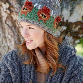 Pachamama Herd of Highland Cow Bobble Beanie