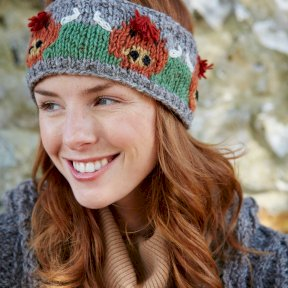 Pachamama Herd of Highland Cow Headband