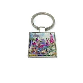 Alex Clark Bee Garden Key Ring